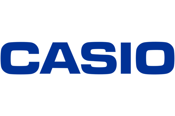 Brand logo casio