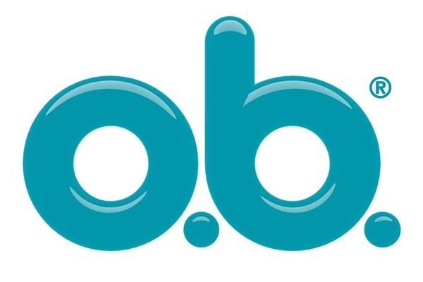 Brand logo o.b.