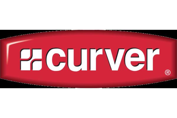 Brand logo curver